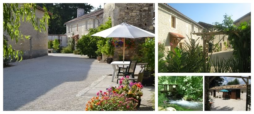 Bed and Breakfast and Chambres d'hotes in Chef-Boutonne